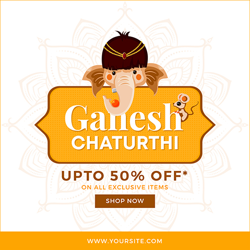 Ganesh Chaturthi Thumbnail Medium