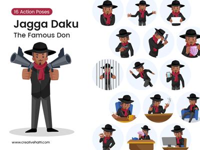 Jagga Daku – The Don Vector Bundle