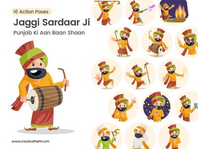 Jaggi Sardaar Ji – Punjab ki Aan Baan Shaan Vector Bundle