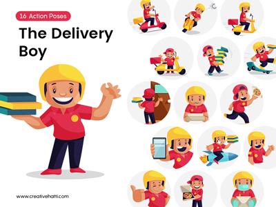 Raju- The Delivery Boy Vector Bundle