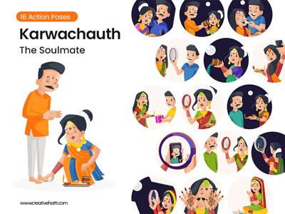 Karwachauth – The Soulmate Vector Bundle