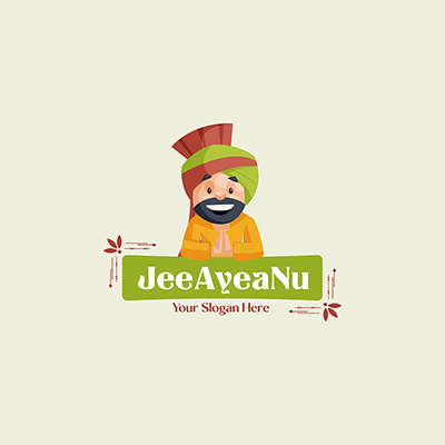 Jee Ayea Nu Vector Mascot Logo Template