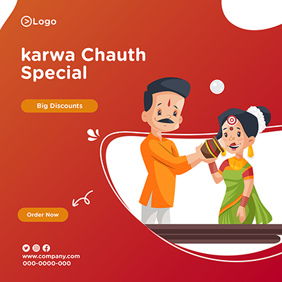 Karwa chauth special social media design
