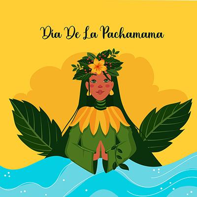 Banner template design of dia de la pachamama