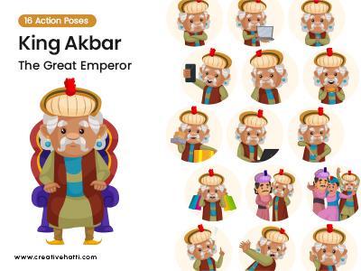 King Akbar- The Great Emperor Vector Bundle