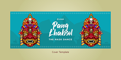 Cover design template of Pang Lhabsol