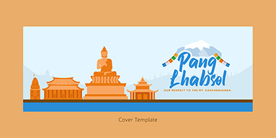 Cover page template for Pang Lhabsol