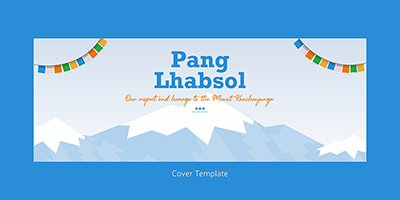 Cover template of Pang Lhabsol festival