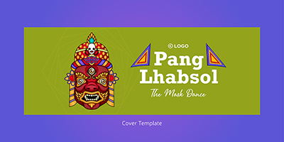 Facebook cover template of Pang Lhabsol