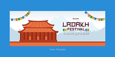 Ladakh festival facebook cover template