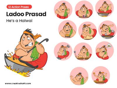 Ladoo Prasad- He's a Halwai Vector Bundle