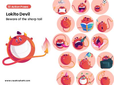 Lokito Devil- Beware of The Sharp Tail Vector Bundle