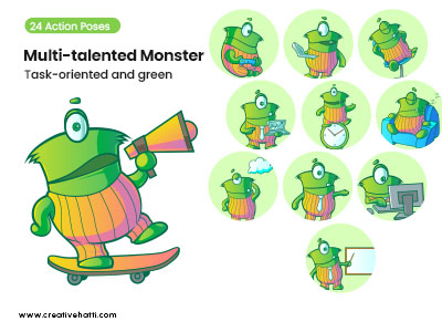 Multi-talented Monster Task-Oriented and Green Vector Bundle