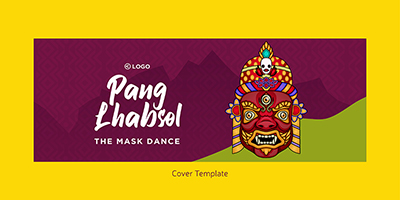 Pang Lhabsol cover design template