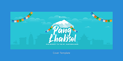 Pang Lhabsol facebook coverpage template