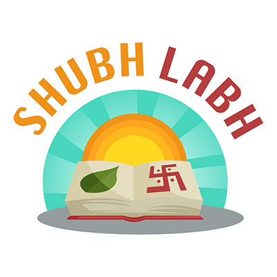 Shubh Labh illustration on a white background