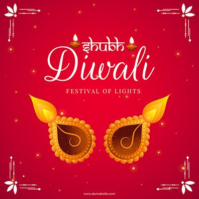 Shubh Diwali festival template banner design