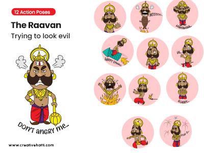 The Raavan – Trying to Look Evil Vector Bundle