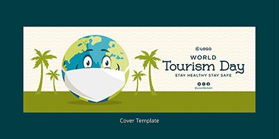 Cover page design of world tourism day