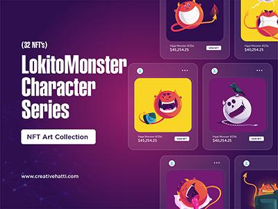 Lokita Monster Character Series NFT Collection