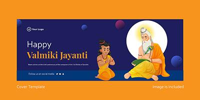 Valmiki Jayanti facebook cover template