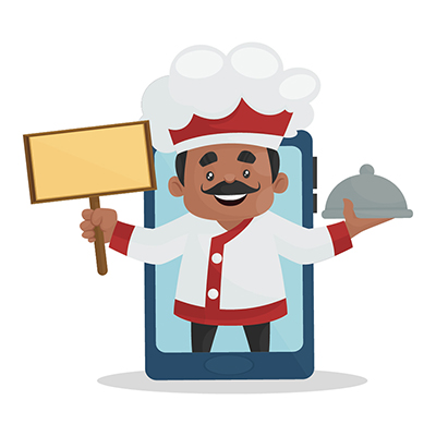 Chef is offering food on mobile app